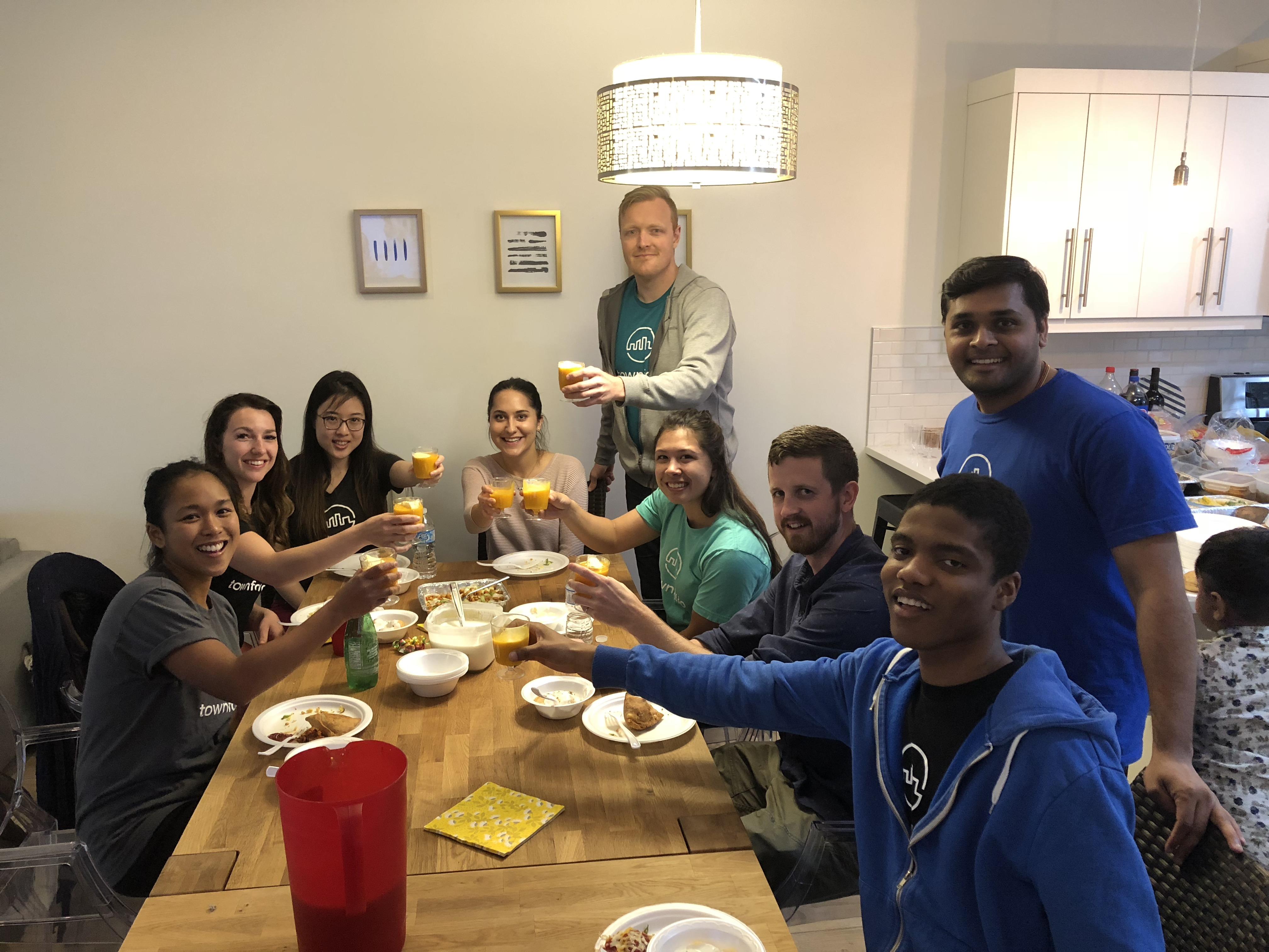 Team Dinner - Townfolio
